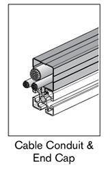 1 AF cable conduit end cap
