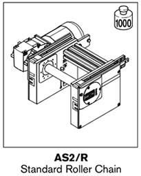1 tsplus as2 standard roller chain