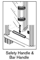 10 AF safety handle bar