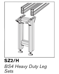 12 ts4plus bs4 heavy duty leg sets