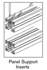13 AF panel support inserts