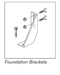 13 ts4plus foundation brackets