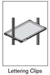 14 AF lettering clips