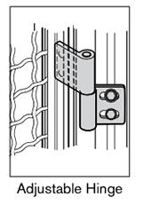15 AF adjustable hinge