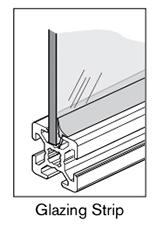 16 AF glazing strip