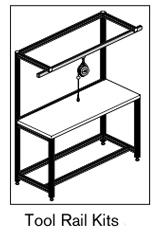 18 AF tool rail kits
