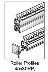 2 AF roller profiles 45x30