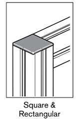 2 AF square rectangular