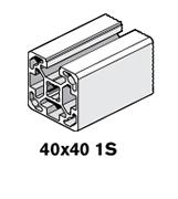 2 Profiles 40x40 1S