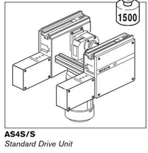2 ts4plus as4s standard drive unit