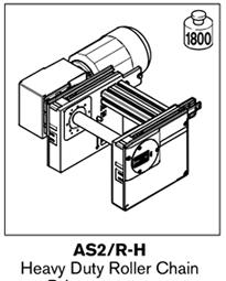 2 tsplus as2 heavy duty roller chain