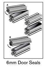 25 AF 6mm door seals