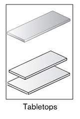 3 AF tabletops