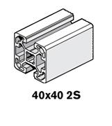 3 Profiles 40x40 2S