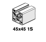 3 Profiles 45x45 1S