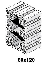3 Profiles 80x120