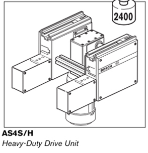 3 as4s heavy duty drive unit
