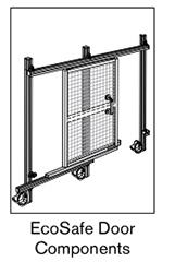 4 AF ecosafe door components