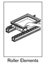 4 AF roller elements