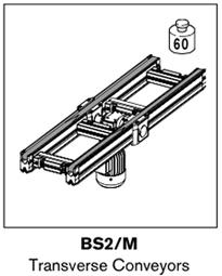 4 tsplus BS2 Transverse Conveyors