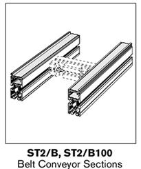 4 tsplus belt conveyor sections