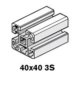 5 Profiles 40x40 3S