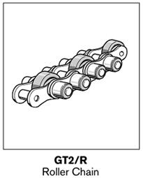 5 tsplus gt2 roller chain