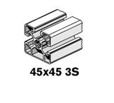 6 Profiles 45x45 3S