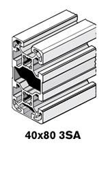 8 Profiles 40x80 3SA