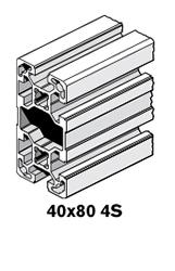 9 Profiles 40x80 4S
