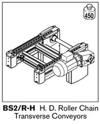 9 tsplus HD roller chain transerve conveyors