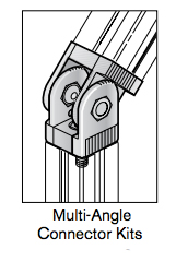 1 multi angle connector kits