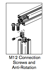 9 pro connectors m12 connection screws